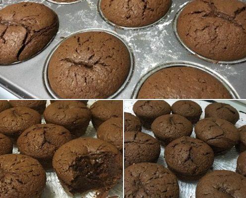 Συνταγή Lava Cake Σοκολάτας