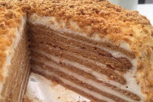 Συνταγή για Russian Honey Cake – Κέικ με μέλι και γιαούρτι!