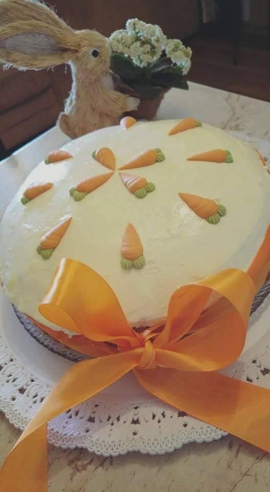 Συνταγή: Carrot Cake με ανανά και ινδοκάρυδο