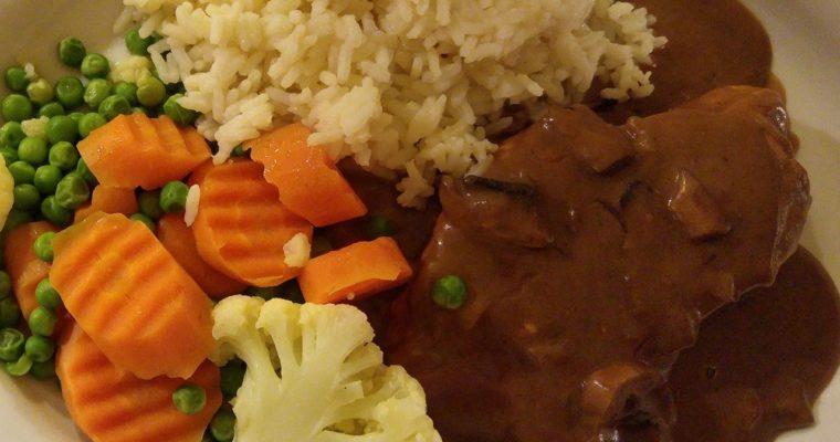 Συνταγή για Steak Diane -Στέικ Νταϊάν