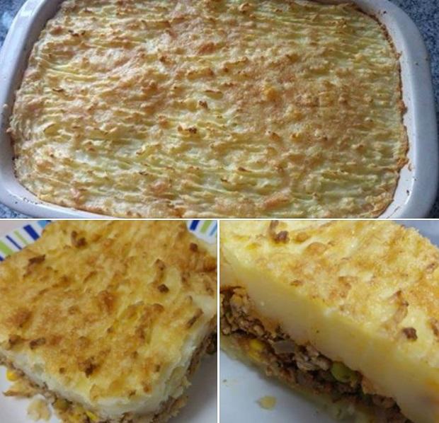 Συνταγή για Shepherd's Pie – Πίτα του βοσκού με πατάτα πουρέ, κιμά και λαχανικά