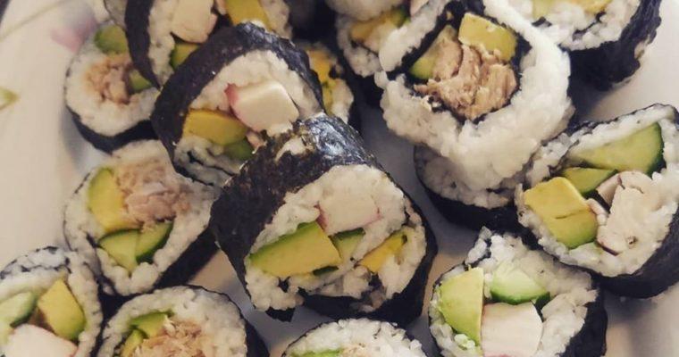 Eshi sushi! Συνταγή για σπιτικά σούσι 🍣