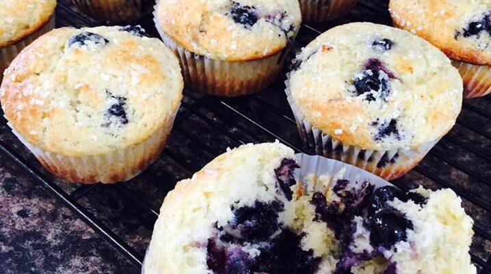 Συνταγή για Blueberry Muffins