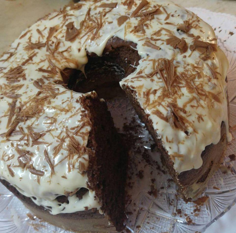 Συνταγή για Nutella Black & White Cake!