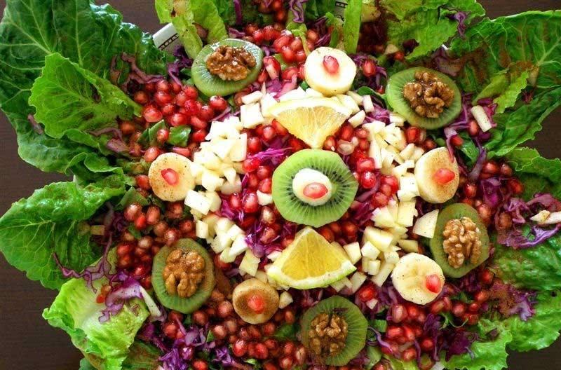 """Συνταγή για Σαλάτα """"Αφροδίτη"""" με ρόδι"""